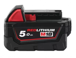 Milwaukee M18 B5 5.0 Ah akumulator | Milwaukee 4932430483