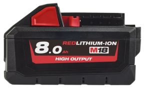 Milwaukee M18 8.0 AH akumulator | Milwaukee 4932471070